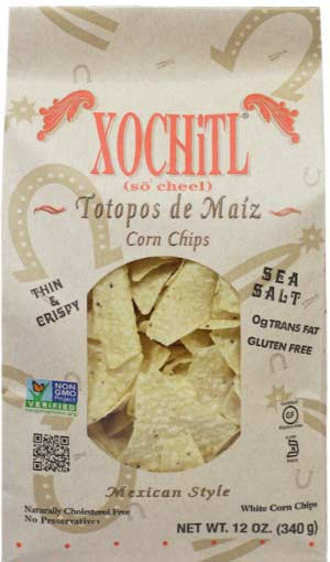 Xochitl Corn Chips Salted-12oz-1910 Distribution
