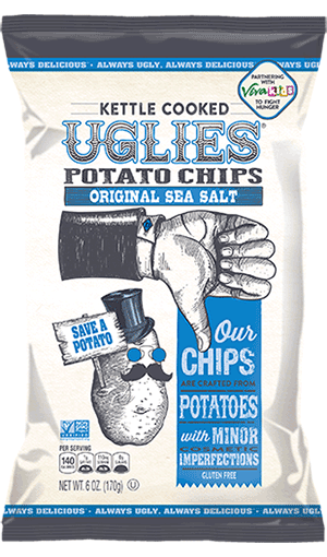 Dieffenbach's Potato Chips uglies-original-sea-salt!